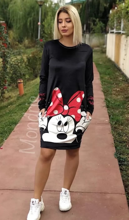 Rochie sport mickey mouse